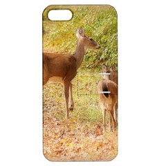 Deer in Nature Apple iPhone 5 Hardshell Case with Stand