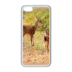 Deer In Nature Apple Iphone 5c Seamless Case (white)
