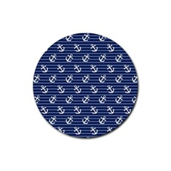 Boat Anchors Drink Coasters 4 Pack (Round)