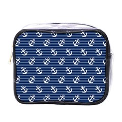 Boat Anchors Mini Travel Toiletry Bag (one Side)