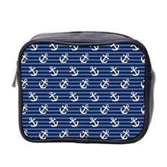 Boat Anchors Mini Travel Toiletry Bag (two Sides)