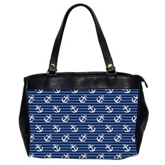 Boat Anchors Oversize Office Handbag (two Sides)