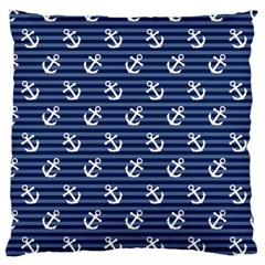 Boat Anchors Large Cushion Case (single Sided)