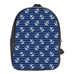 Boat Anchors School Bag (XL)