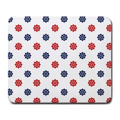 Boat Wheels Large Mouse Pad (rectangle)