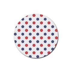 Boat Wheels Drink Coasters 4 Pack (Round)