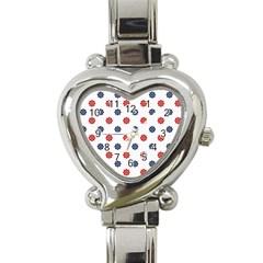 Boat Wheels Heart Italian Charm Watch