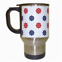 Boat Wheels Travel Mug (White)