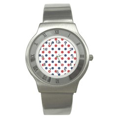 Boat Wheels Stainless Steel Watch (Slim)