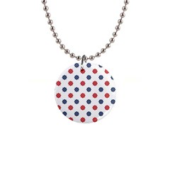 Boat Wheels Button Necklace