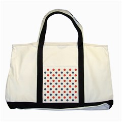 Boat Wheels Two Toned Tote Bag