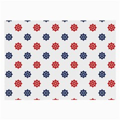 Boat Wheels Glasses Cloth (Large, Two Sided)