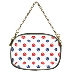 Boat Wheels Chain Purse (two Sided)