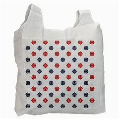 Boat Wheels White Reusable Bag (Two Sides)
