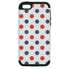 Boat Wheels Apple Iphone 5 Hardshell Case (pc+silicone)