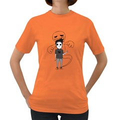 Behind The Mind Women s T Shirt (colored)