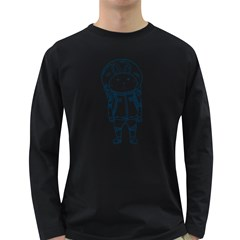 when I go to mars Men s Long Sleeve T-shirt (Dark Colored)