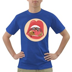 Party In Mouth Men s T Shirt (colored)