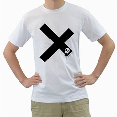 Crazyx Men s T Shirt (white)