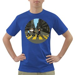 Abbey Road Reloaded Men s T Shirt (colored)