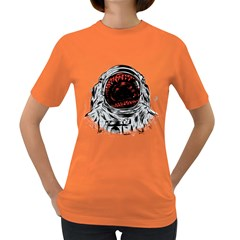 Trouble In the Space Women s T-shirt (Colored)