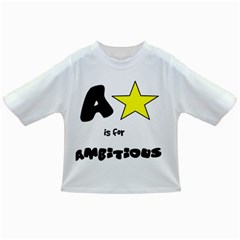 A is for Ambitious Infant/Toddler T-Shirt