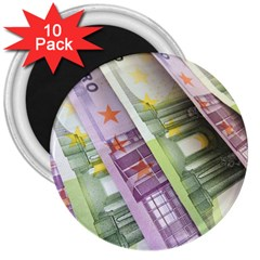 Just Gimme Money 3  Button Magnet (10 Pack)