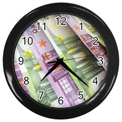 Just Gimme Money Wall Clock (black)