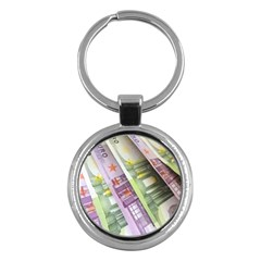 Just Gimme Money Key Chain (round)