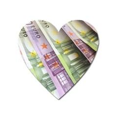 Just Gimme Money Magnet (Heart)