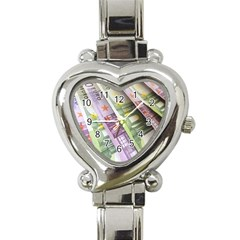 Just Gimme Money Heart Italian Charm Watch