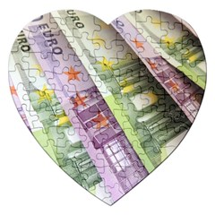 Just Gimme Money Jigsaw Puzzle (Heart)