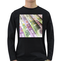 Just Gimme Money Men s Long Sleeve T-shirt (Dark Colored)