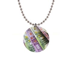 Just Gimme Money Button Necklace