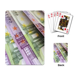 Just Gimme Money Playing Cards Single Design