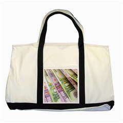 Just Gimme Money Two Toned Tote Bag