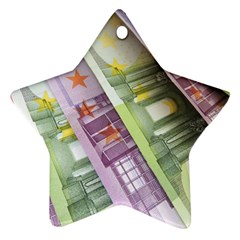 Just Gimme Money Star Ornament (Two Sides)
