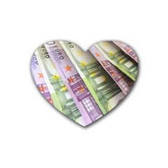 Just Gimme Money Drink Coasters 4 Pack (Heart)