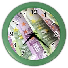 Just Gimme Money Wall Clock (Color)