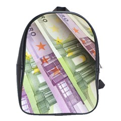 Just Gimme Money School Bag (large)