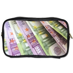 Just Gimme Money Travel Toiletry Bag (Two Sides)