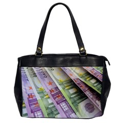 Just Gimme Money Oversize Office Handbag (One Side)