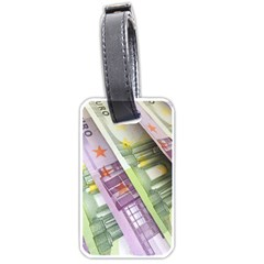 Just Gimme Money Luggage Tag (Two Sides)