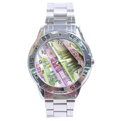 Just Gimme Money Stainless Steel Watch