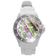 Just Gimme Money Plastic Sport Watch (large)