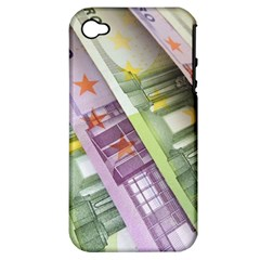 Just Gimme Money Apple Iphone 4/4s Hardshell Case (pc+silicone)