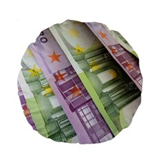 Just Gimme Money 15  Premium Round Cushion