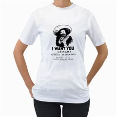 I Want You Gringo Women s T-Shirt (White)