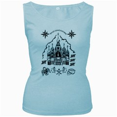 Russian Tattoo Women s Tank Top (Baby Blue)