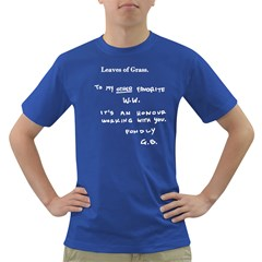 Leaves of Grass Walter White  Men s T-shirt (Colored)